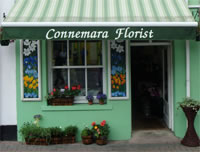 Connemara Florist shop front